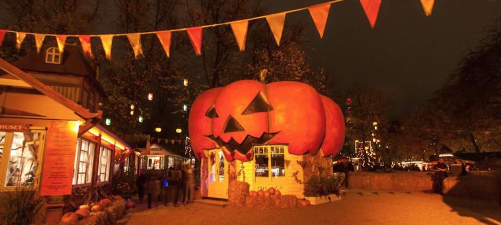 Halloween trick or treat in Copenhagen
