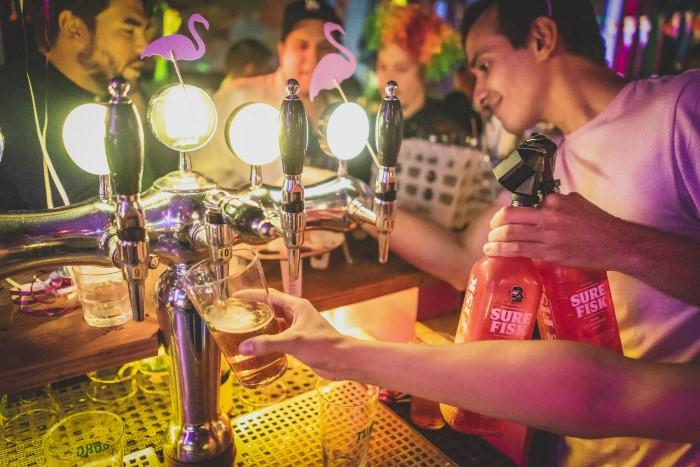 Oktoberfest 2019 is celebrated at Copenhagen Downtown