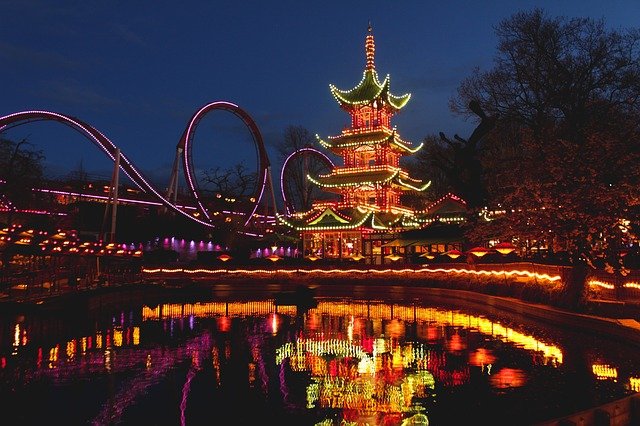 Christmas in Copenhagen at Tivoli Gardens